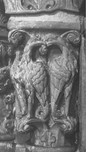 Griffons, chapiteau de la cathédrale de Genève_001 (2)