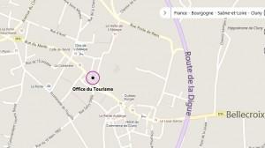Plan accès Office de Tourisme